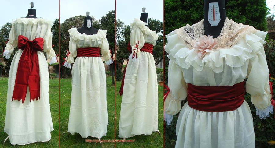 Chemise a la Reine (aka chemise a la gaulle) by giusynuno
