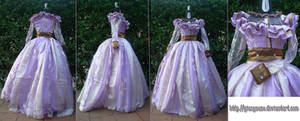 1860s Victorian Day Dress