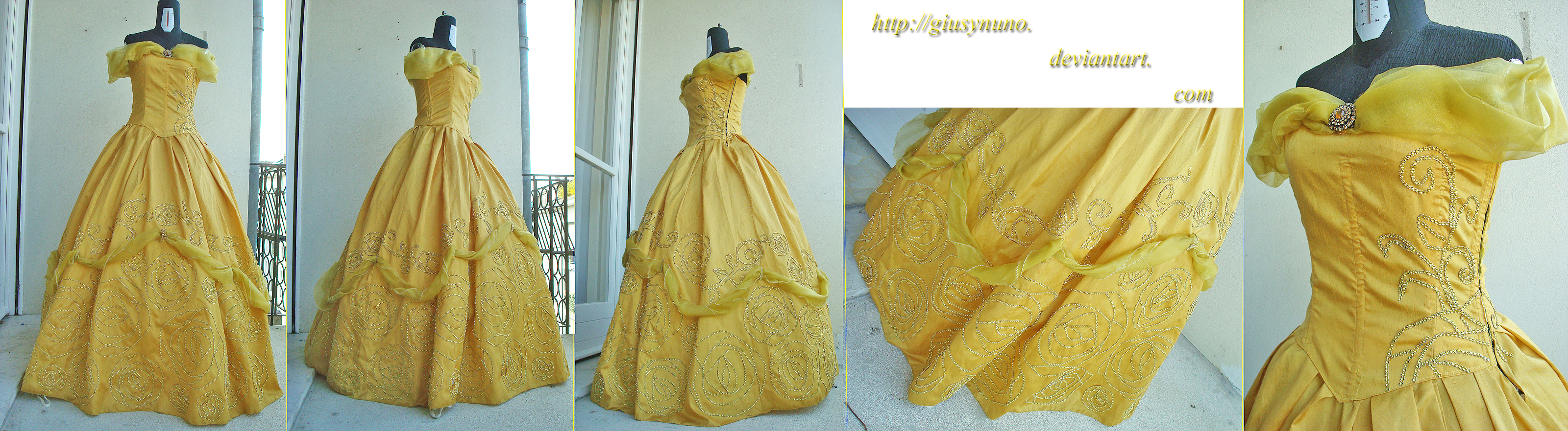 Belle (new Disney Princesses concept) - BatB by giusynuno