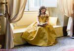 Quiet reading time - Belle
