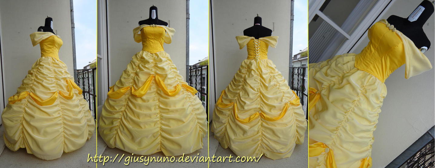 Belle\'s ballgown - Disney\'s Beauty and the Beast by giusynuno on ...