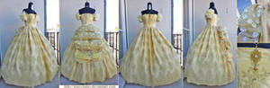Belle's Honeymoon ballgown - Once Upon a Time