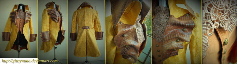 Rumplestiltskin's The Price of Gold outfit - OUaT