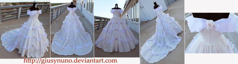 Belle's Wedding Dress - Beauty and the Beast