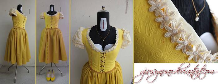 OUAT Belle's 'AU' outfit