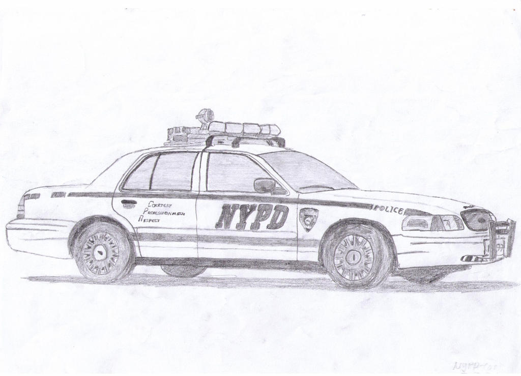 nypd ford crown victoria by delullu on deviantart