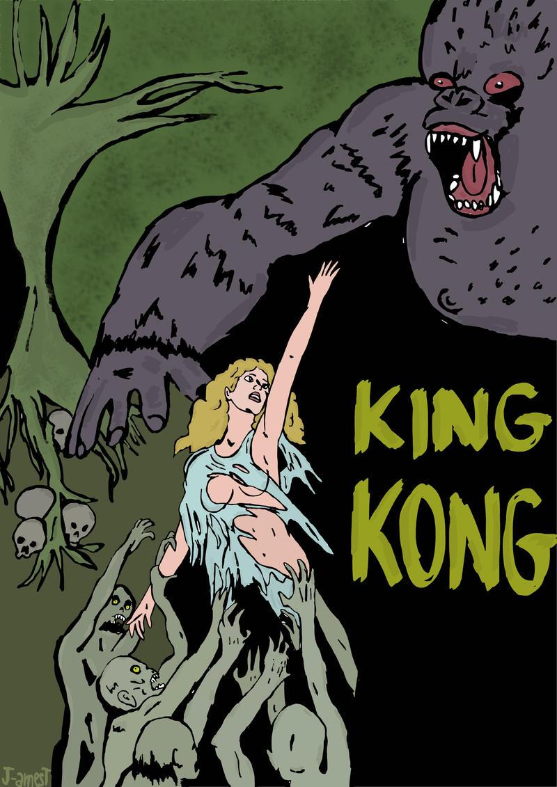 KING KONG by J-amesT