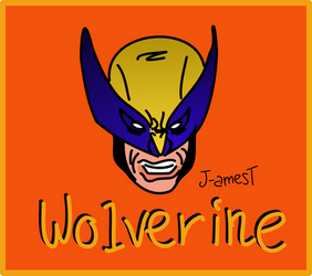 WOLVERINE(vector art sketch) by J-amesT