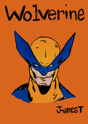 WOLVERINE bust by J-amesT