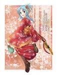 Commission: Kimono Anna