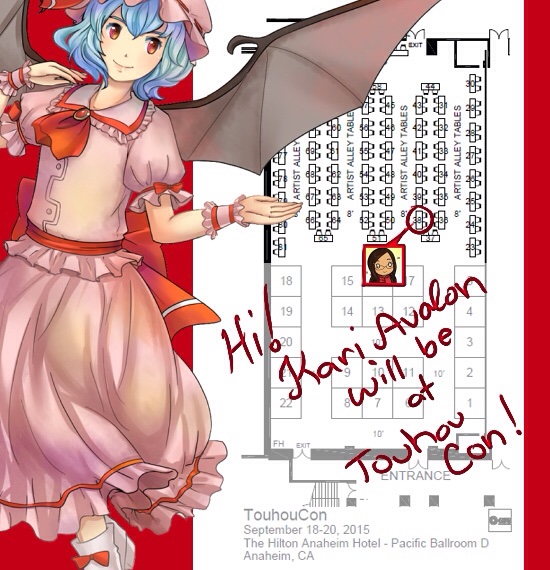 Touhoucon2015 by kariavalon