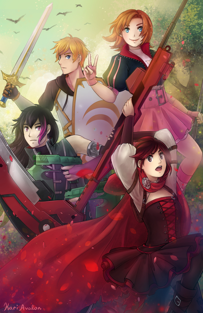 RWBY Volume 4: RNJR by kariavalon