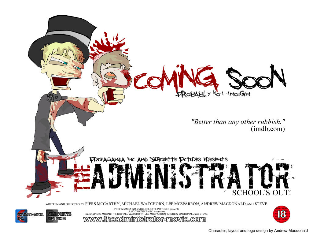 Administrator - The Administrator Movie Poster By Muppetmaster
