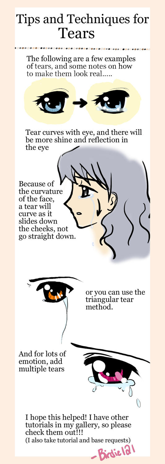 Tutorial Tears By Birdie121 Black Eyes By Pocketuti On Deviantart How To  Draw How