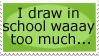 Drawing Stamp by Birdie121