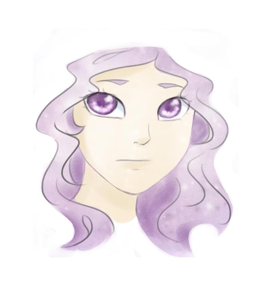 Purple Sketch by Birdie121