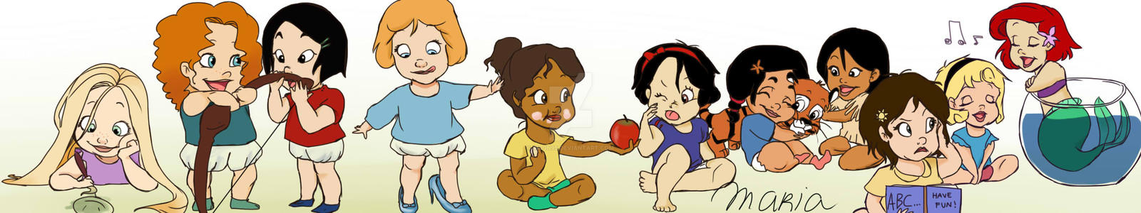 Baby Disney Princesses