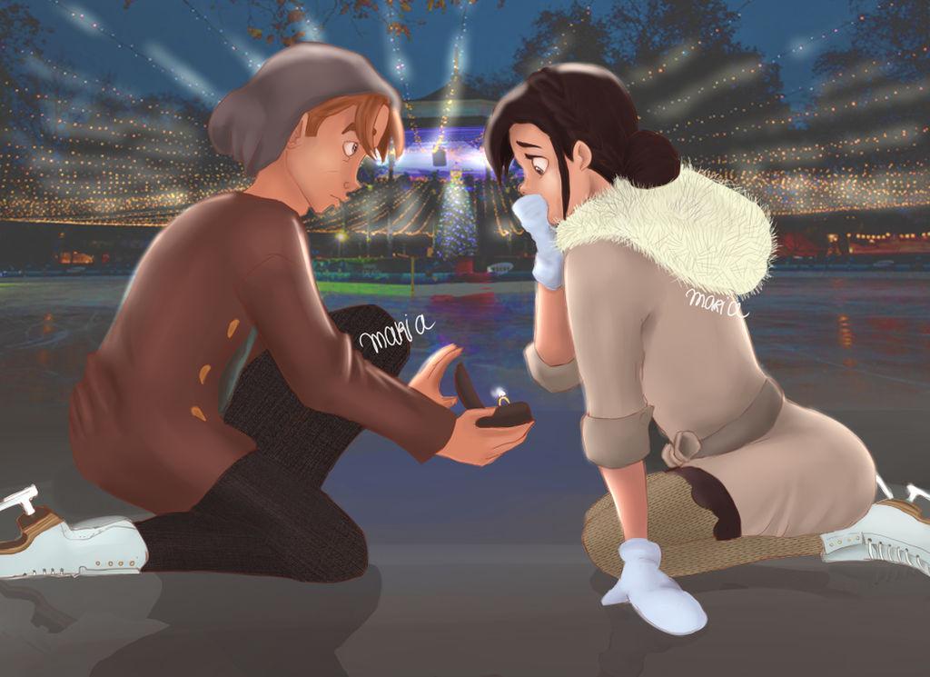 Winter Proposal  || JiMel