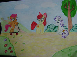 Chicken Mark Crusaders or Cutie Mark Chickens