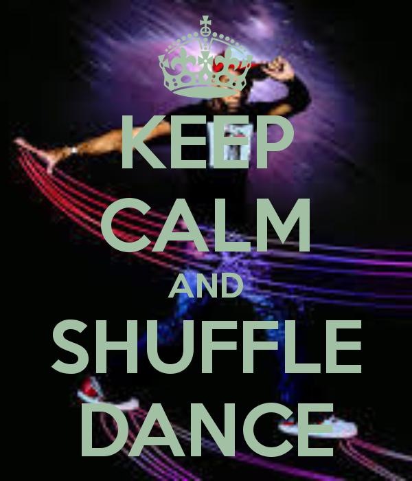 how do you shuffle dance