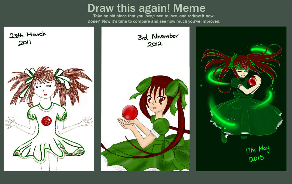 Draw This Again! Meme!! by Grace022