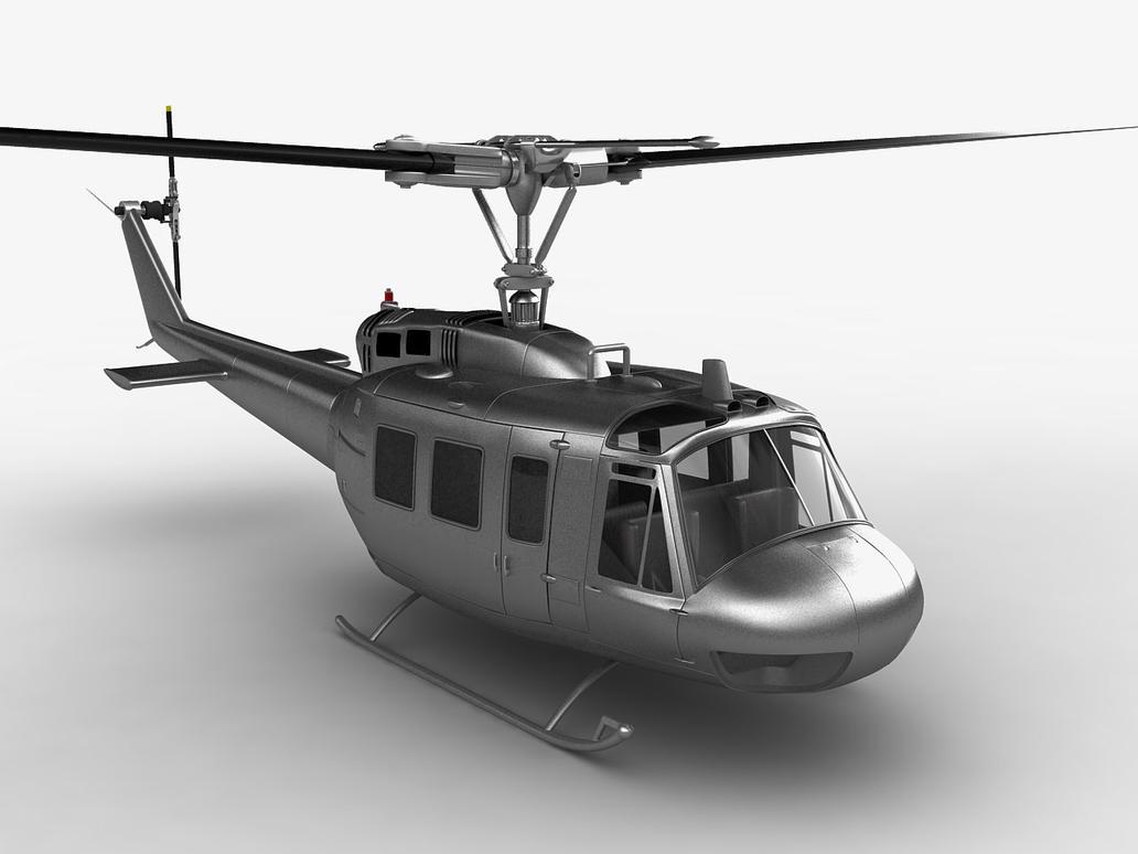 Elicottero Uh 1 : Uh huey helicopter by mmajestik on deviantart
