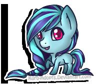 Tiny Pony OC by Kuro-Creations