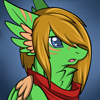 Fruit Bloom Chat Icon: Surprised by Kuro-Creations
