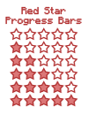 Red Progress Bars by Kuro-Creations