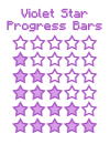 Violet Progress Bars by Kuro-Creations