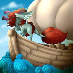 [C] On the sea