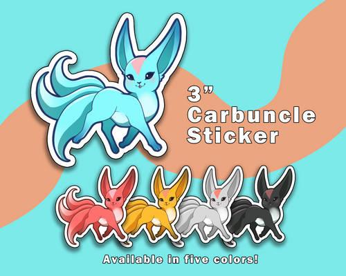 Carbuncle Vinyl Stickers [UFS]