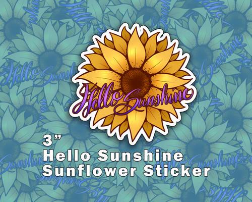 Hello Sunshine Vinyl Stickers [UFS]