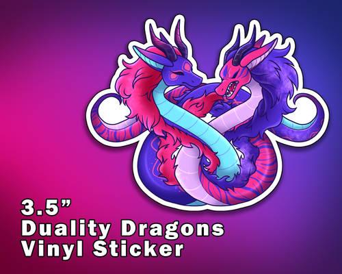 Duality Dragons Vinyl Stickers [UFS]