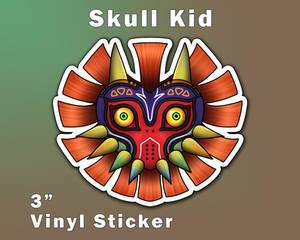 Skull Kid Majora's Mask Vinyl Sticker [UFS]