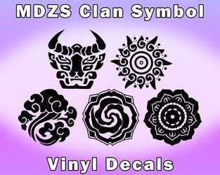 Mo Dao Zu Shi Clan Decals [UFS]