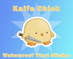 Knife Chick Sticker [UFS]