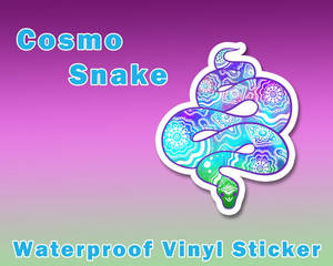 Cosmo Snake Sticker [UFS]