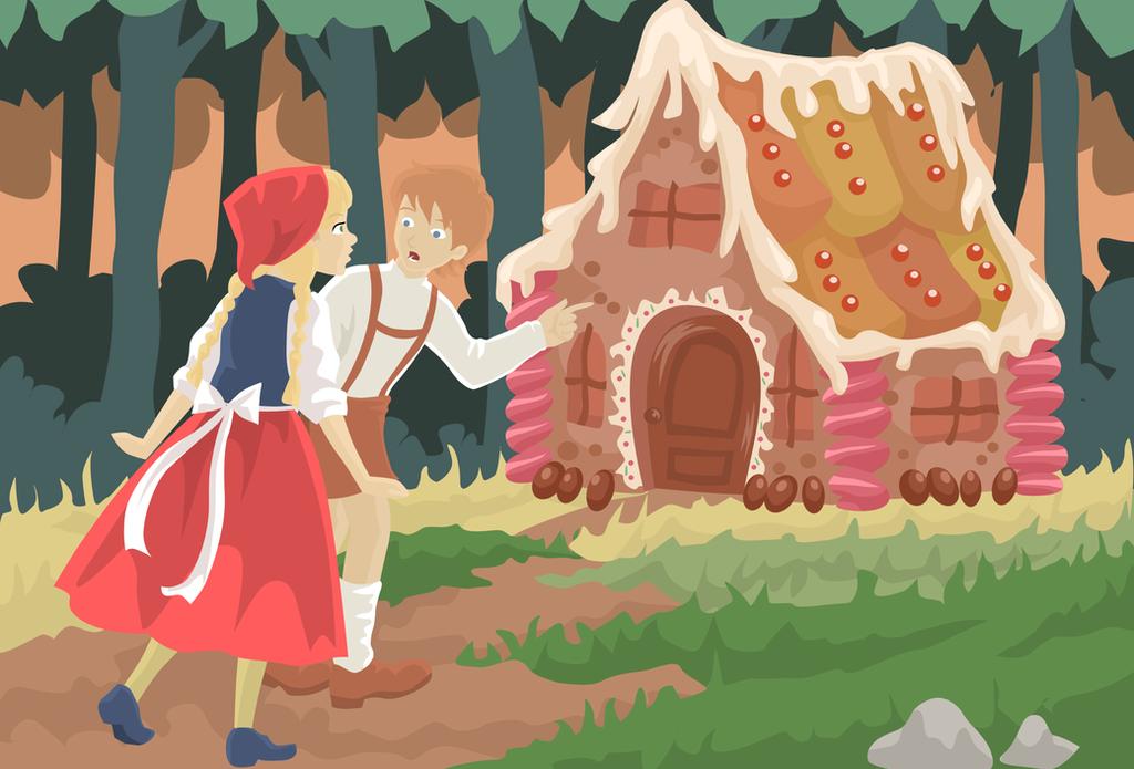 Hansel and Gretel by koshami