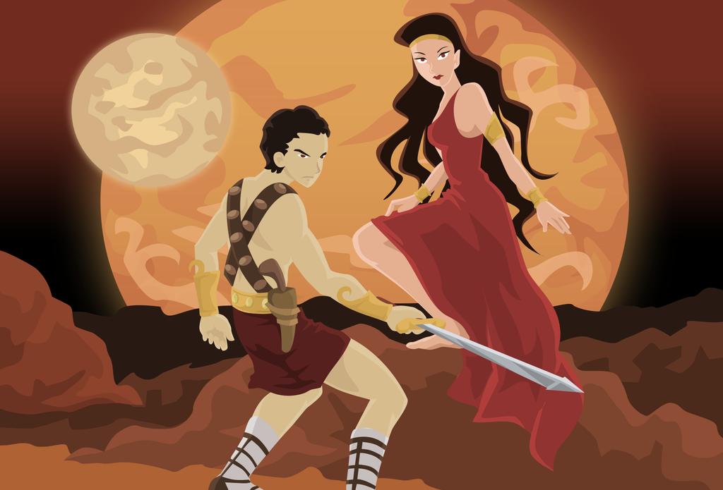 Princess of Mars by koshami