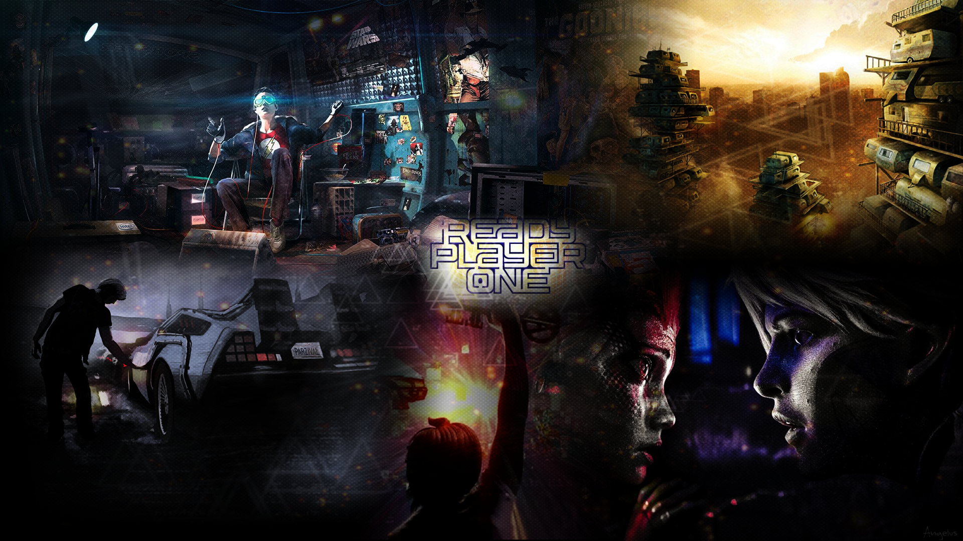 Ready Player One Hd Wallpaper 1080p By Angelus23 On Deviantart