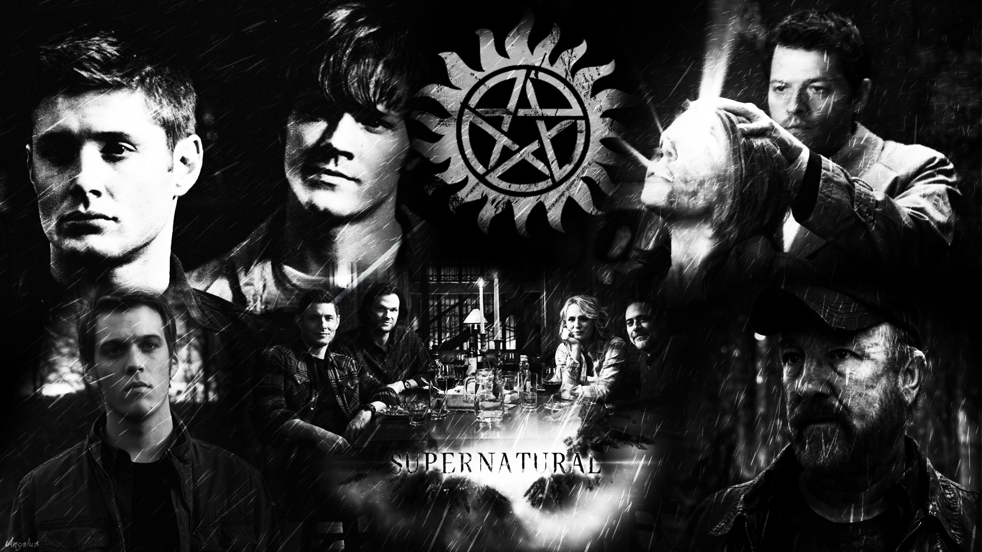 Supernatural |Family| Wallpaper/Poster HD by Angelus23 on DeviantArt