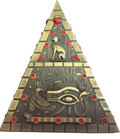 Egyptian Pyramid PNG Stock Cut-Out
