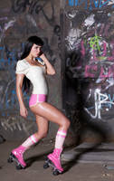 Roller girl by ladylucie