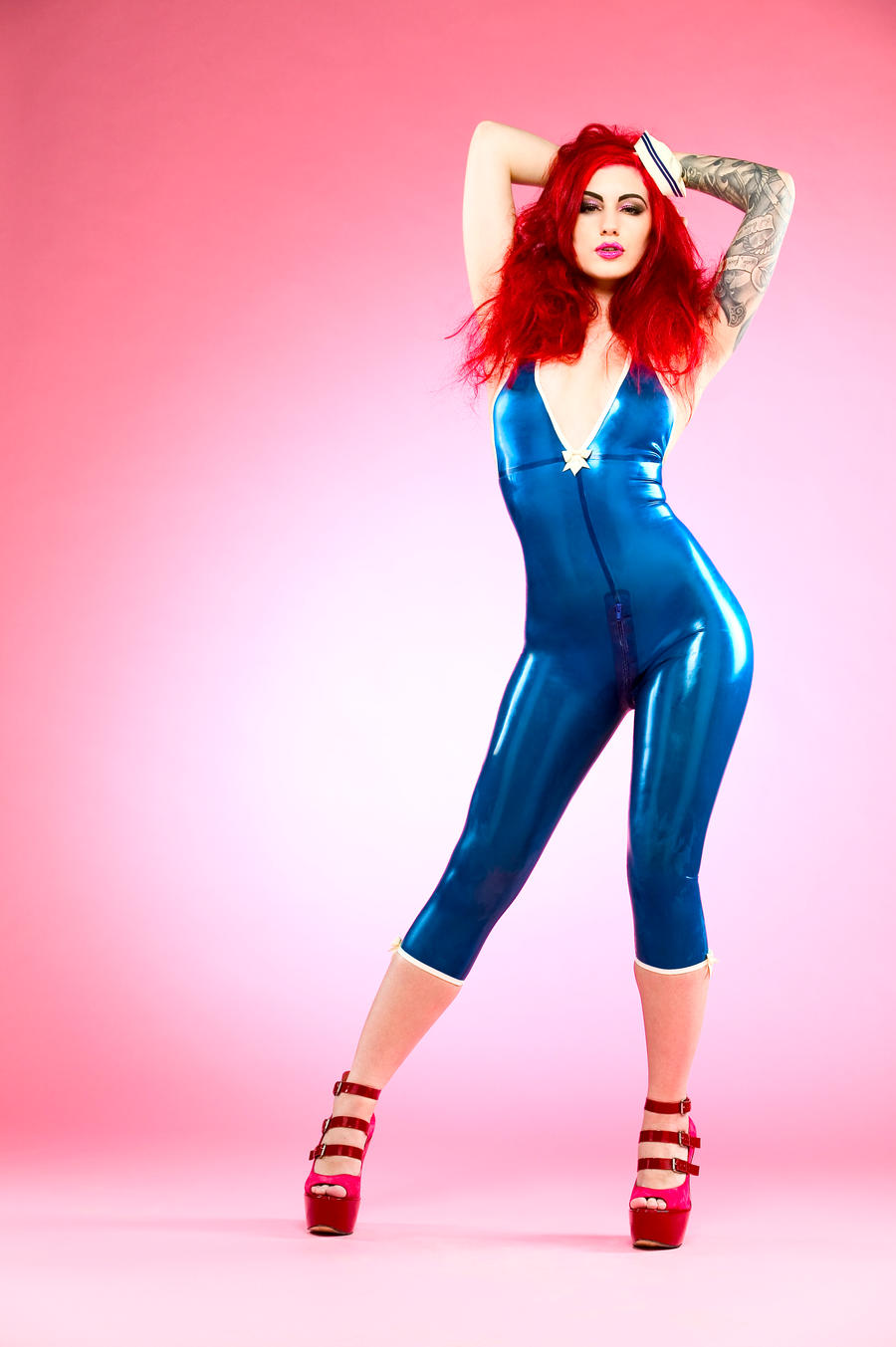 Hello Latex Sailor by ladylucie