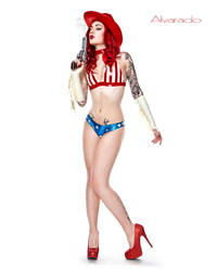 Lady Lucie Latex Cowgirll by ladylucie