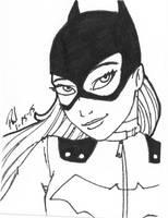 Batgirl ATC by PMDallasArt