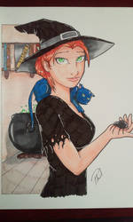 Witch colored