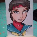 Sakura Card by PMDallasArt