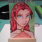 Princess card by PMDallasArt